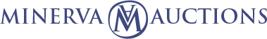 minerva auctions logo