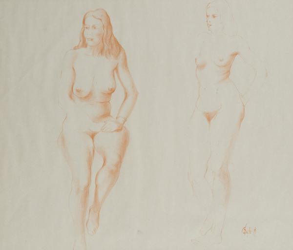 Due nudi femminili