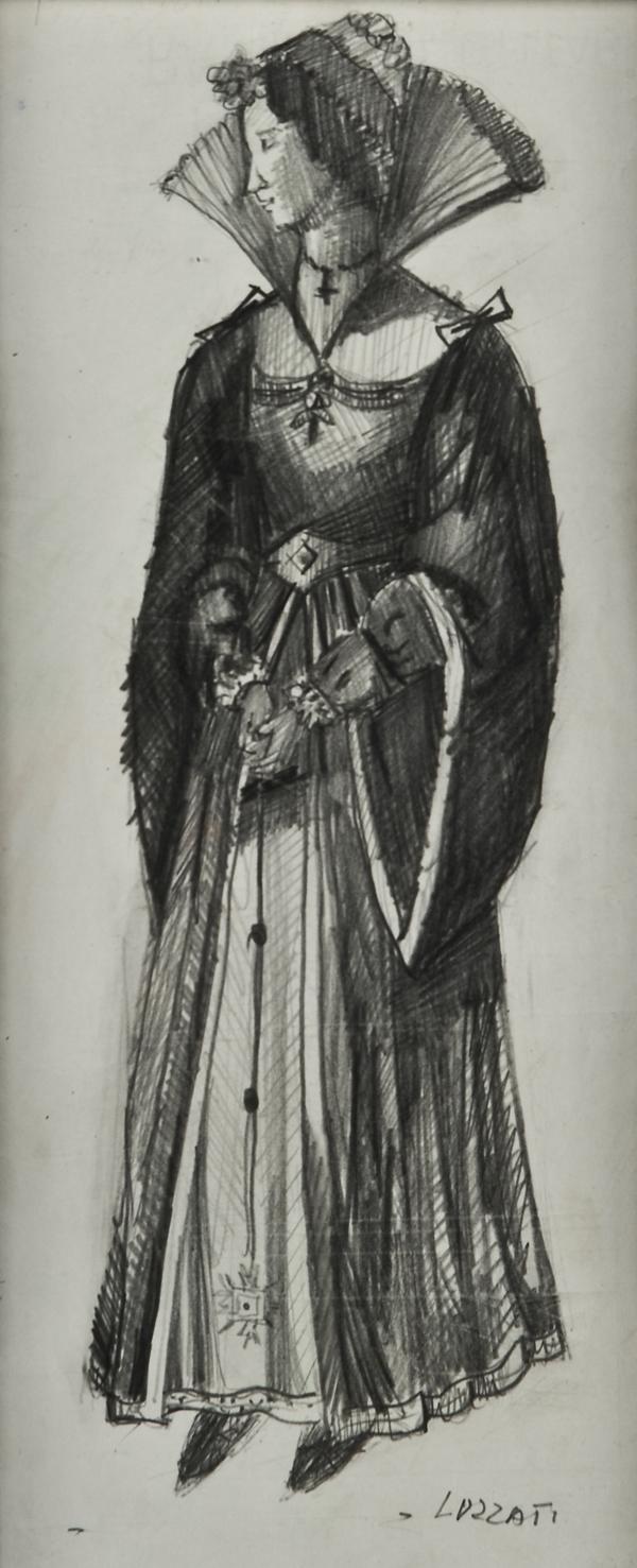 Figura femminile in costume