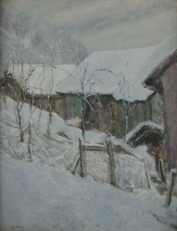 L'inverno in paese