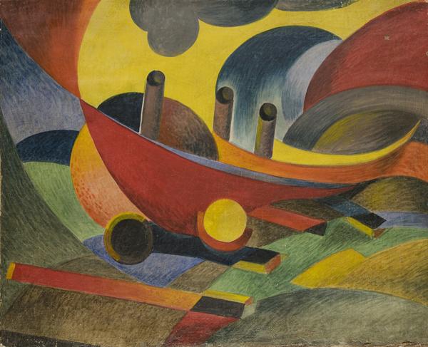 Evoluzione della macchina, (1932)