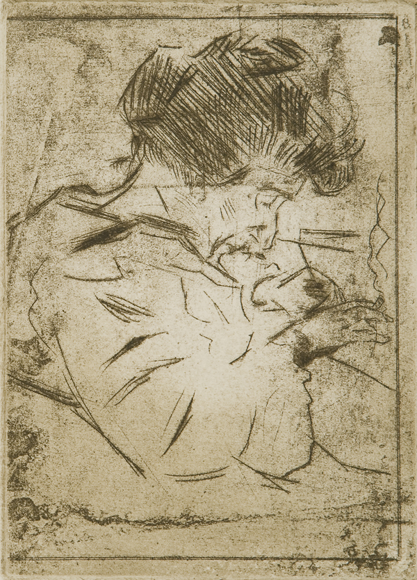Ritratto femminile, (1907)