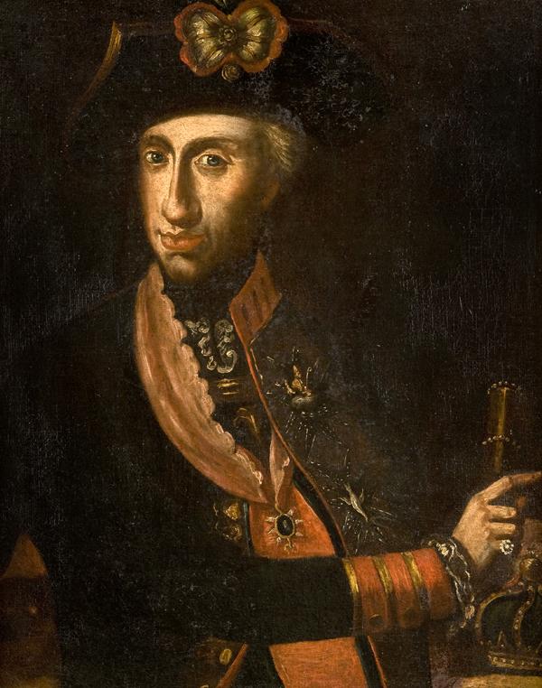 Ritratto del Re Ferdinando di Borbone; e Ritratto della Regina Maria Carolina d'Austria a mezzo busto
