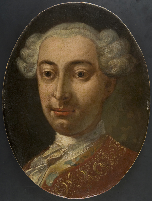 Ritratto di gentiluomo con parrucca