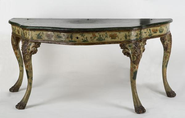 Raro tavolo console marchigiano 1770 dipinti antichi e for Console tavolo