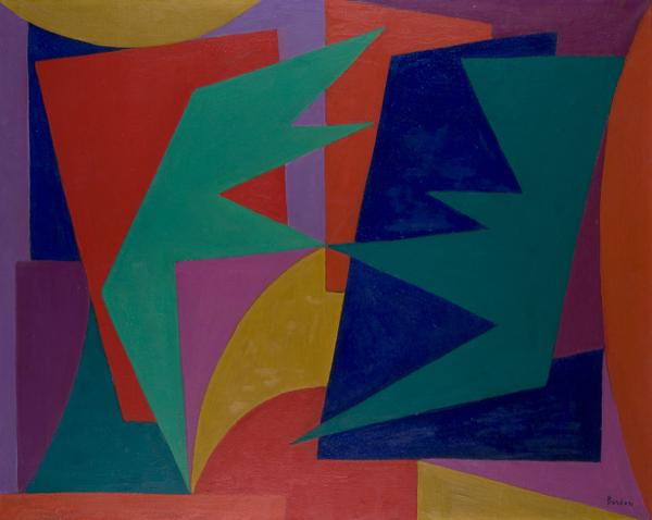 Composizione 4, 1957