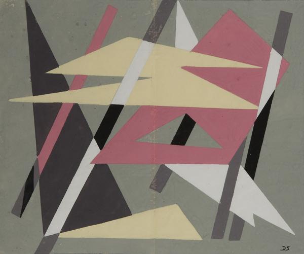 Geometrie astratte, Anni '40