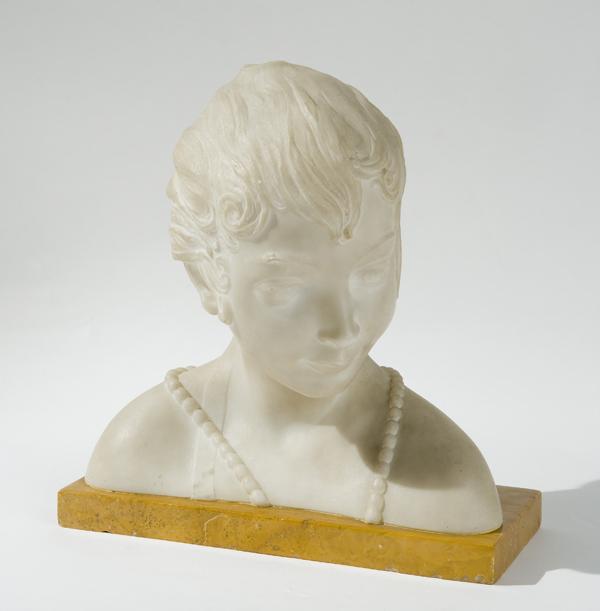 Busto di fanciulla, 1915