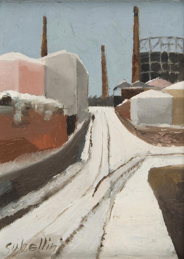 Periferia sotto la neve