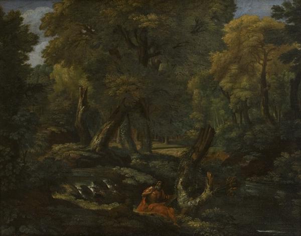 Paesaggio con San Girolamo