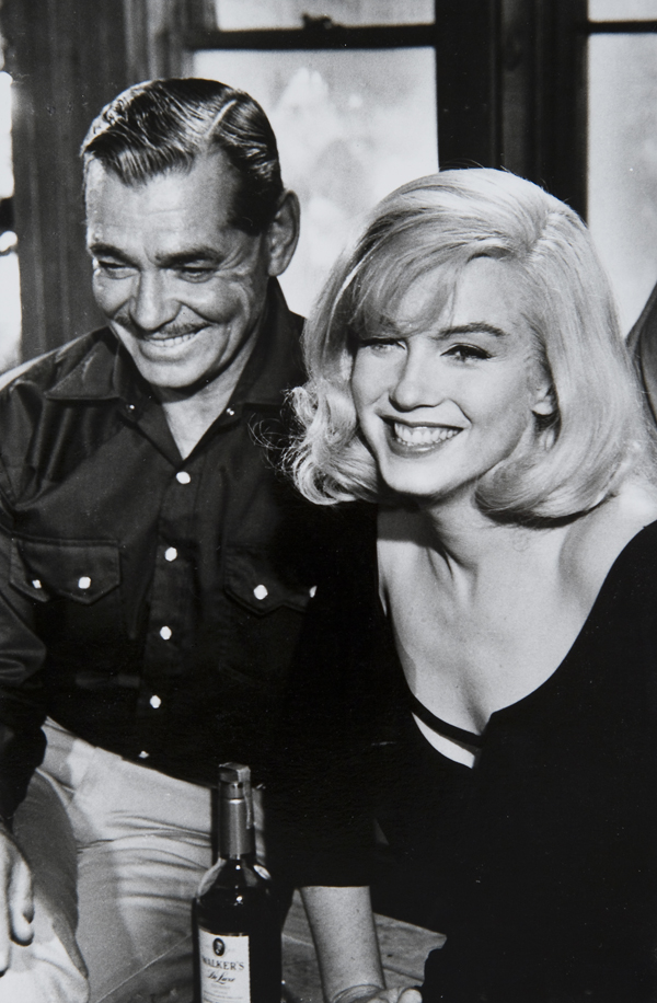 "Marilyn Monroe and Clarke Gable ""The Misfits"", 1961"