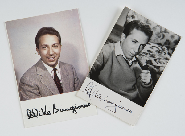 Foto cartoline autografate