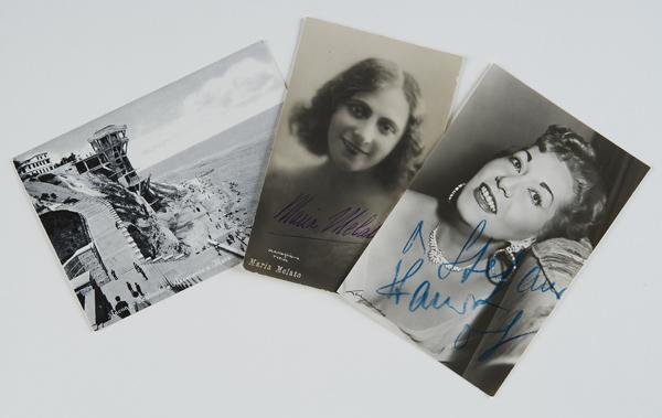 Fotografie autografate