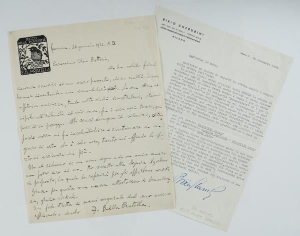 Lettera autografa e firmata