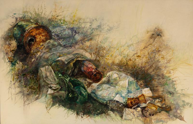 Natura morta (discarica), 1982