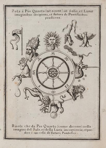 Vaticinia, siue Prophetiae abbatis Ioachimi, & Anselmi episcopi Marsicani, cum imaginibus aere incisis,
