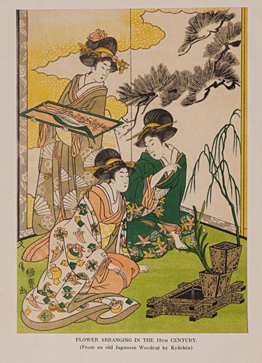The Way of Japanese Flower Arrangement