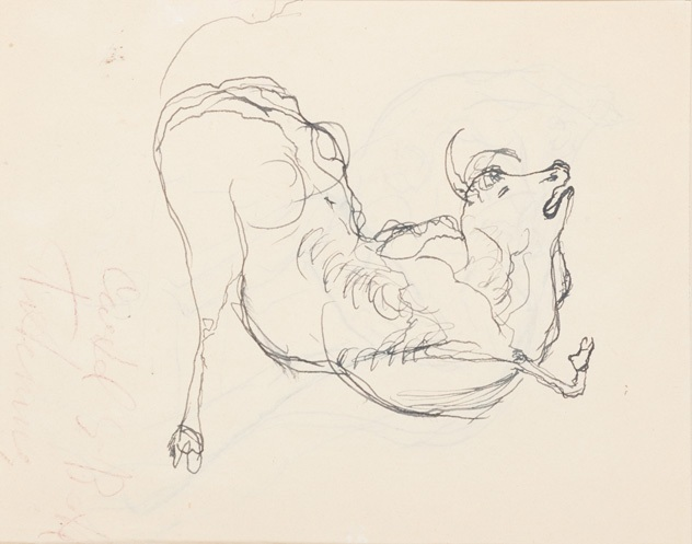 Toro morente, 1937 ca.
