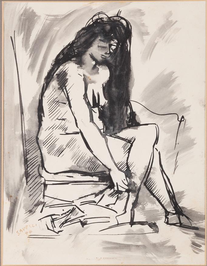 Figura femminile, 1944