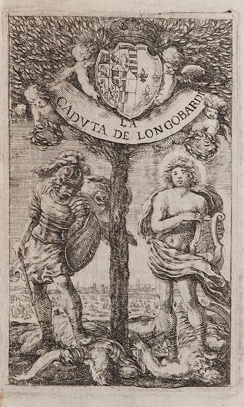 La caduta de' Longobardi poema eroico del sig. Sigismondo Boldoni; con argomenti, e supplimenti del P. D. Gio. Nicolò Boldoni suo fratello