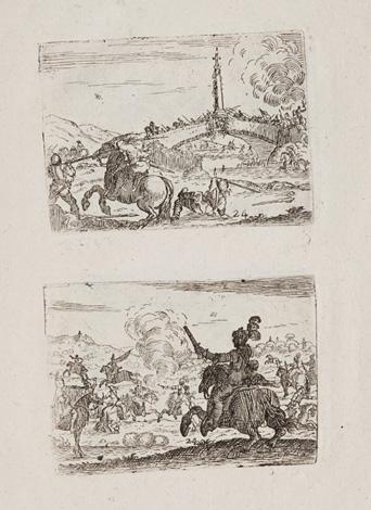 Diverse figure De Stef. della Bella Gravees