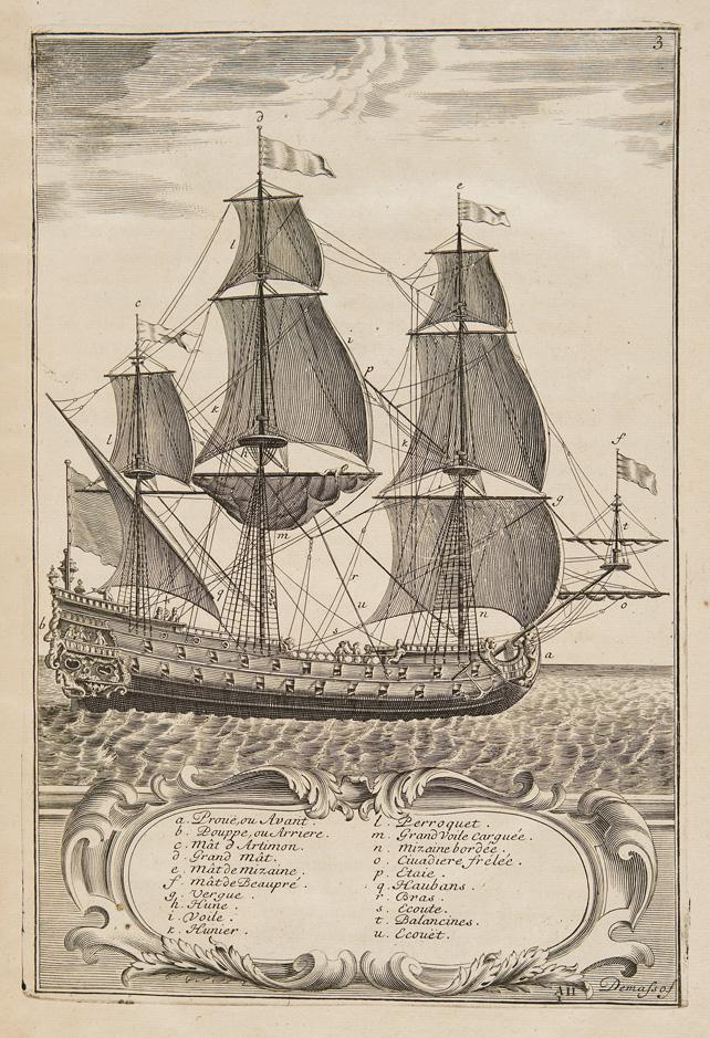 L'Art des armées navales, ou traité des evolutions navales…