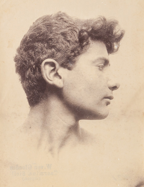 Portrait of a young man, ca. 1910