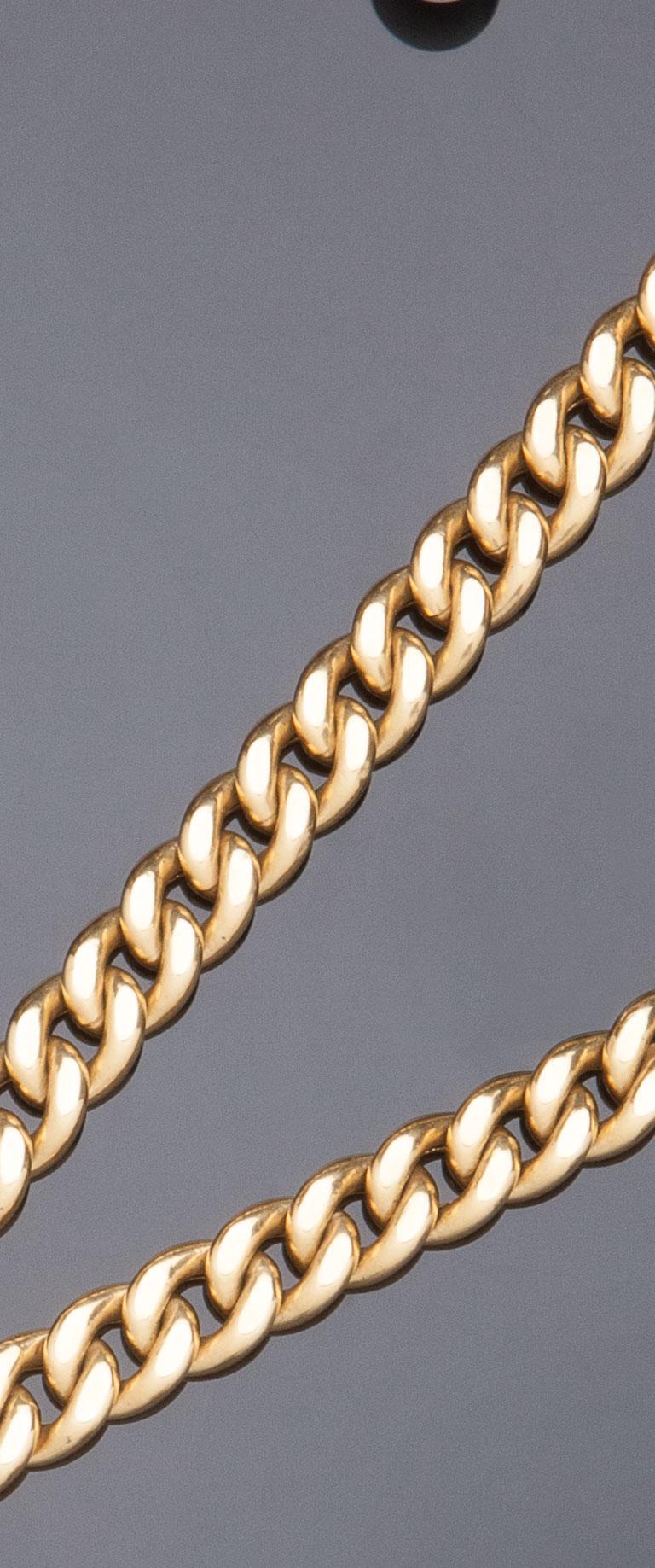 Collana in oro giallo 18 kt