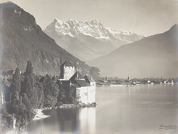 Geneve, Chateau Chillon, ca. 1920