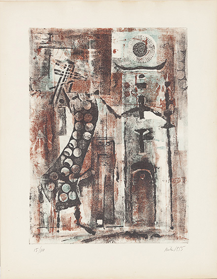Composizione, 1955