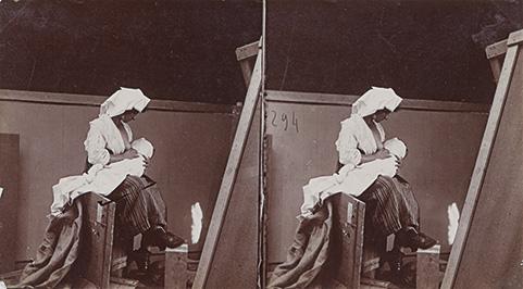 Painting studio, ca. 1920