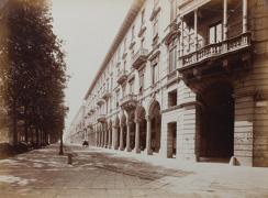 Torino in ferie, Padiglioni in Piazza San Carlo, 1934