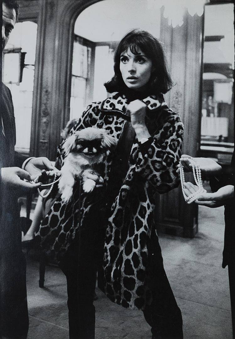 Mode Paris, Elsa Martinelli, ca. 1970