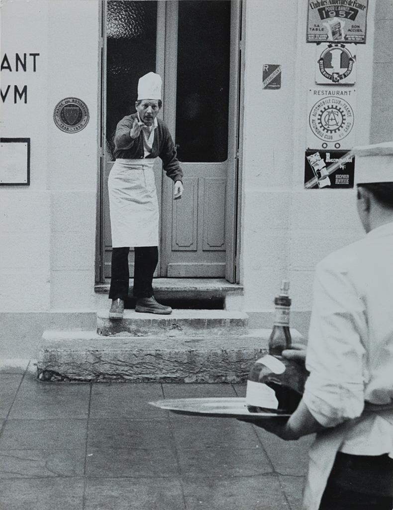 Danny Kaye, Chef, ca. 1950