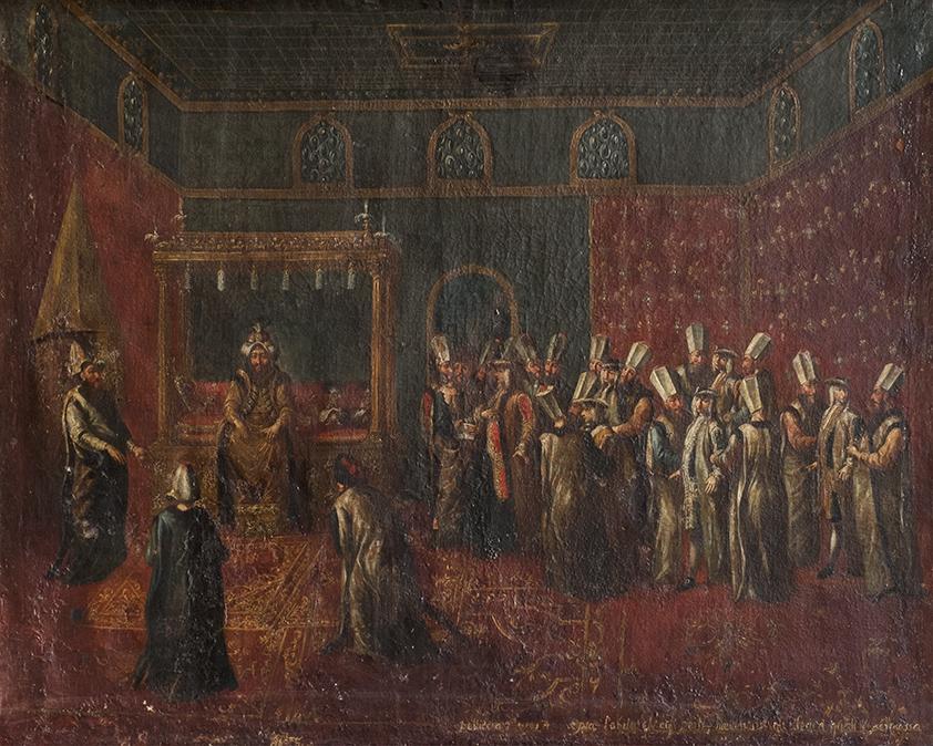 L'udienza di Cornelis Calkoen con il sultano Ahmed III; e il Banchetto del sultano Ahmed III per Cornelis Calkoen