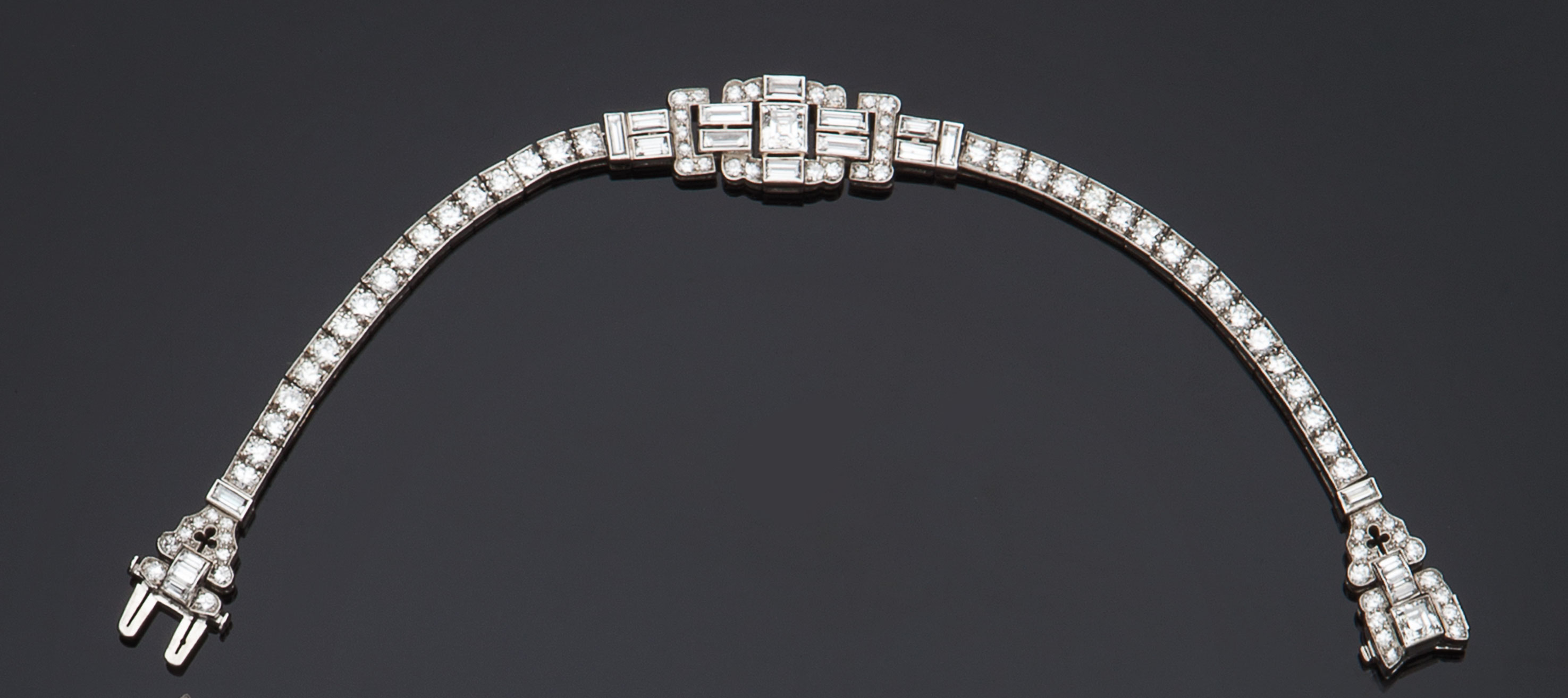 Collier in platino