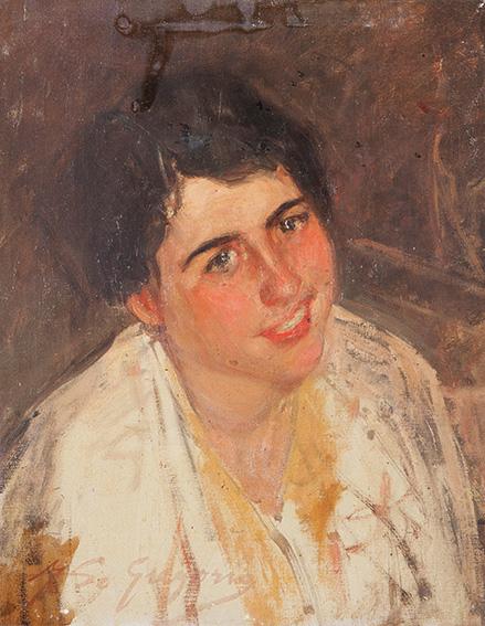 Giovane donna sorridente di Francesco de Gregorio