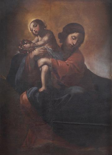 Madonna in gloria con Bambino