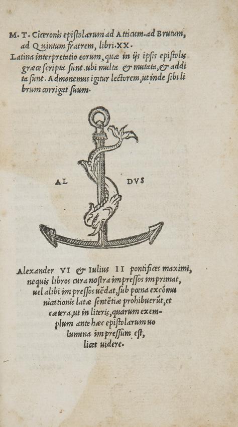 Epistolarum ad Atticum ad Brutum, ad Quintum fratrem, libri XX
