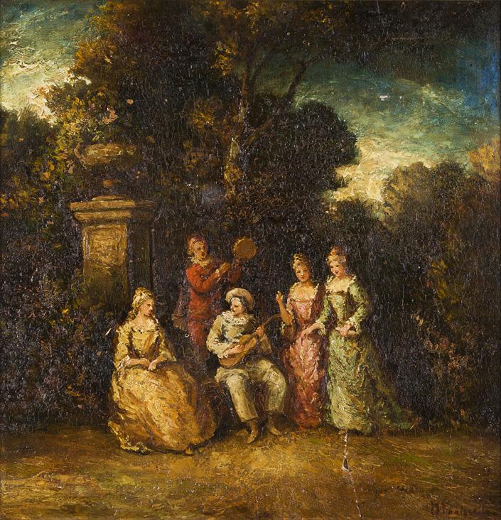 Concertino nell'antica villa