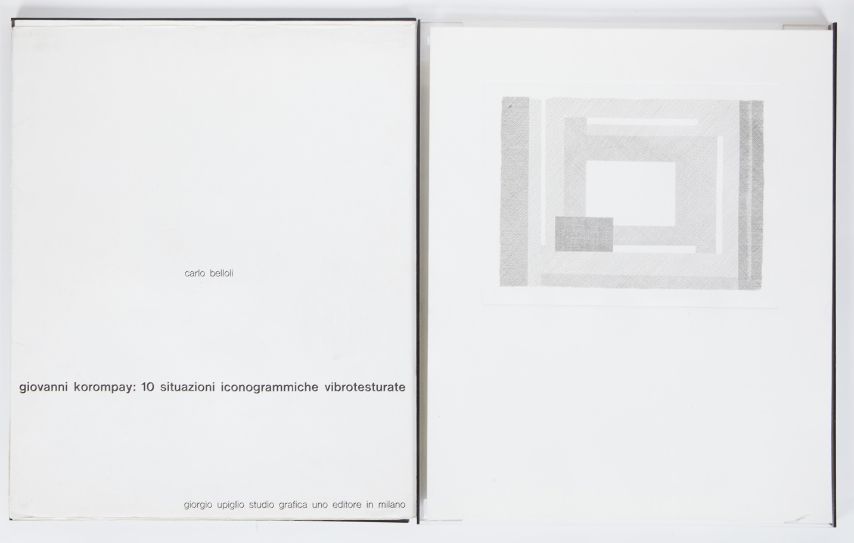 Dieci situazioni iconogrammiche vibrotesturate, 1970