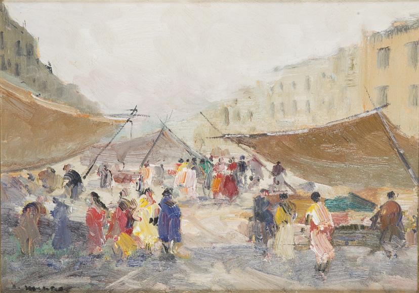 Napoli, il mercato in piazza