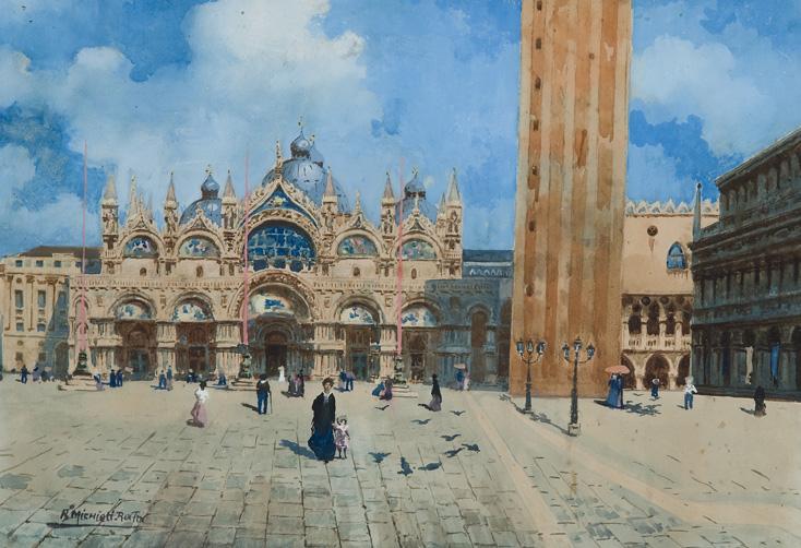 Venezia, passeggio in Piazza San Marco