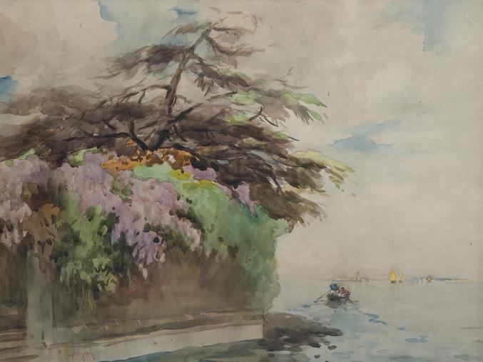 Venezia, barche in laguna
