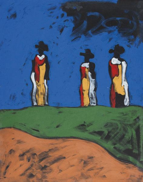 I guardiani del castello, 1985-'87