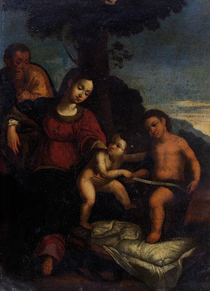 Sacra Famiglia e San Giovannino