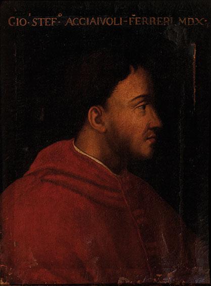 Ritratto del cardinale Giovanni Stefano Acciaioli