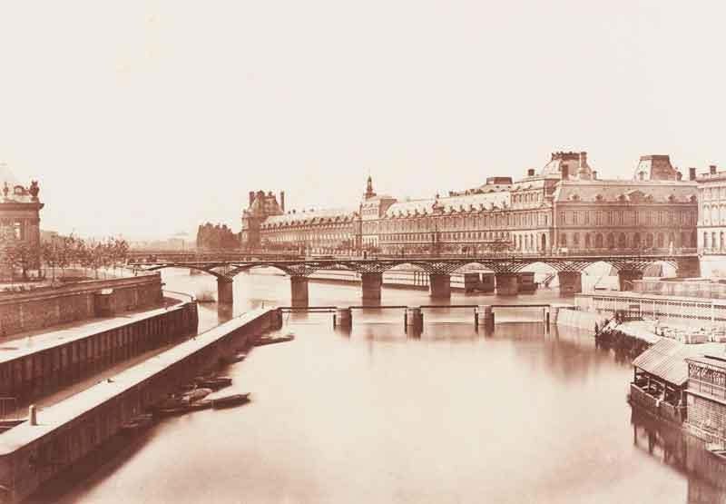 La Grande Galerie, Paris, ca. 1870