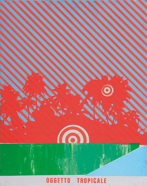 Oggetto tropicale, 1968