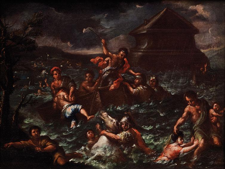 Il Diluvio Universale (bozzetto)